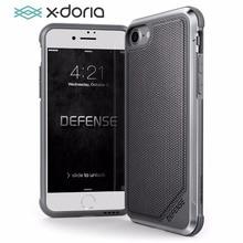 X Doria 전화 케이스 아이폰 7 8 플러스 국방 럭스 군사 학년 드롭 테스트 아이폰 7 8 플러스 Coque 보호 케이스 커버