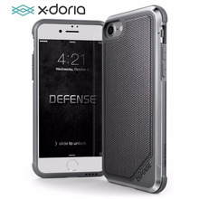 X doria funda protectora para iPhone 7, 8 Plus, protección Lux, grado militar, probada por caída