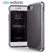 X doria telefon kılıfı için iPhone 7 8 artı savunma Lux askeri sınıf damla test koruyucu kılıf kapak iPhone 7 8 artı Coque