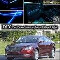Для BUICK LaCrosse внутренний окружающий свет тюнинг атмосфера волоконно-оптический ленточный свет внутри Дверная панель Освещение не EL свет