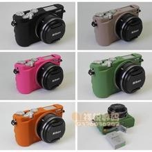 Camera Silicone Rubber Case Cover For nikon J5 Mirrorless Sy
