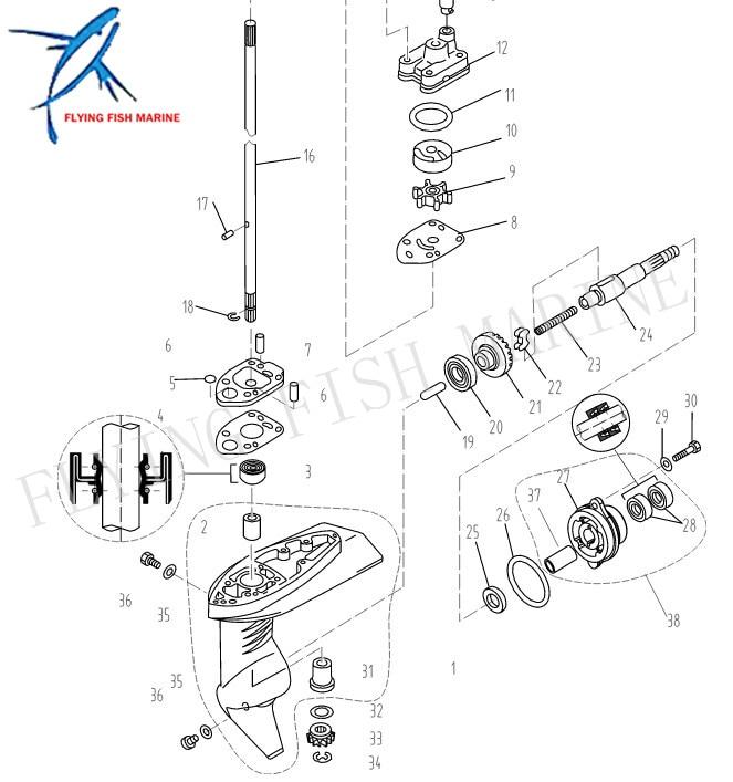 chrysler 55 hp outboard motor wiring diagrams image 8