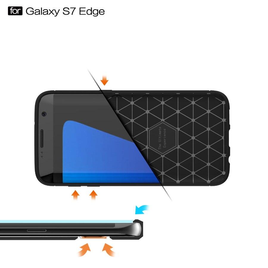 Högkvalitativ halkfri telefonväska för Samsung Galaxy S7 Edge - Reservdelar och tillbehör för mobiltelefoner - Foto 4