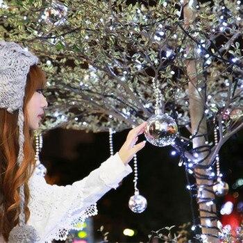 30 M impermeable 110 V/220 V 200 LED vacaciones cadena luces para fiesta de Navidad Hada colorida Navidad LED luces de cadena