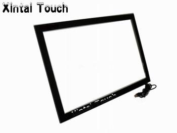 75 дюймов ЖК-рамка инфракрасного сенсорного экрана и реальные 20 точек 75