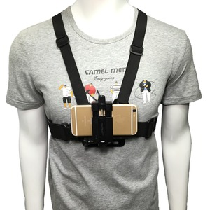Image 1 - Universal Cell Phone Chest Mount Harness Strap Holder Mobile Phone Clip for Smartphone POV Video Outdoor GoPro SJCAM YI shooting