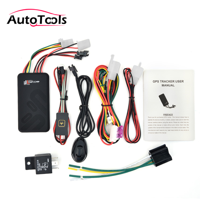 GT06 car GPS Tracker Vehicle real time PC online car/motorcycle tracking system locator cut off fuel + microphone