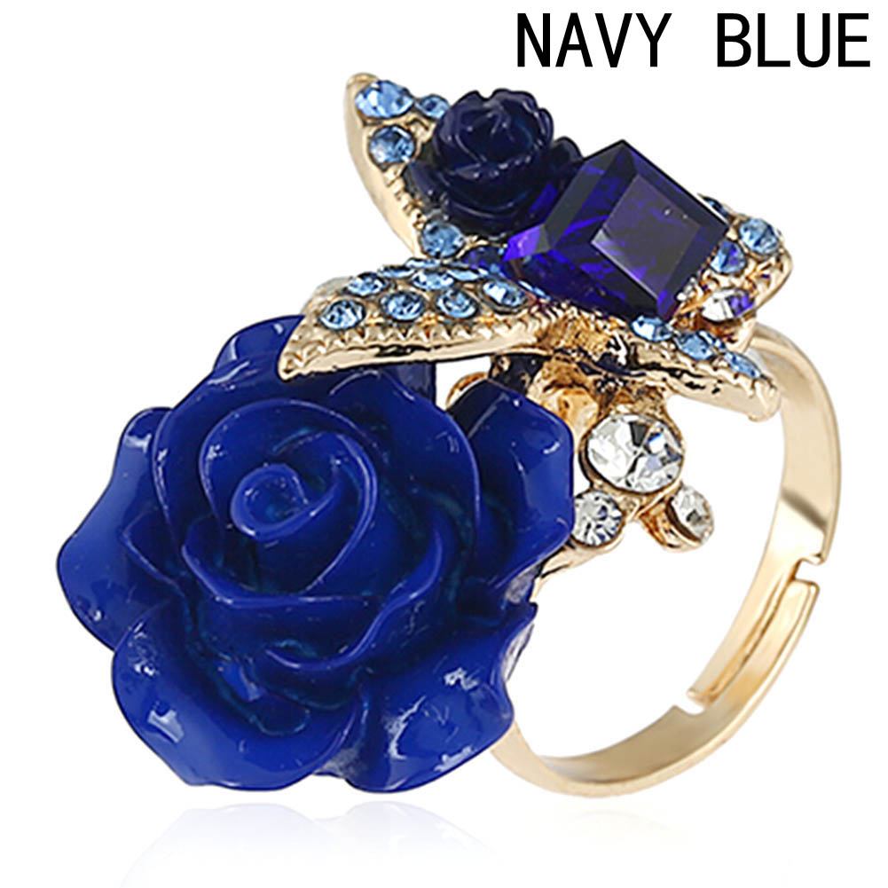 Beauty Adjustable Rings Vogue Stylish Hot Sale Butterfly Chic Practical Flower