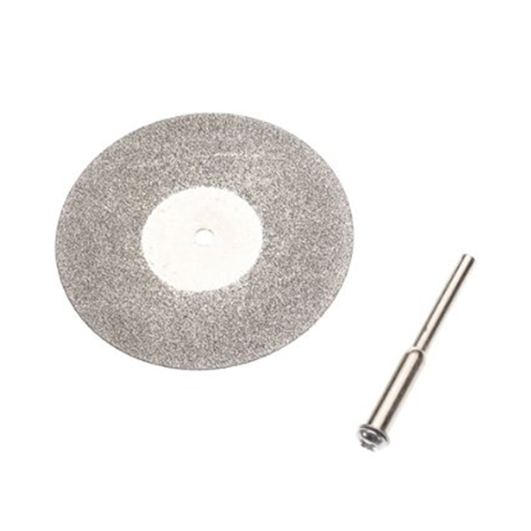Mini 50mm Diamond Cutting Saw Blade Discs Silver Circular Abrasive Cutting Wheels With 1 Root For Dremel Drill Fit Rotary Tools