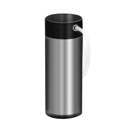 MEROL Fully automatic coffee machine accessories Vacuum double stainless steel insulated milk tank 0.4L кофемашина merol italco merol me 709 серебро