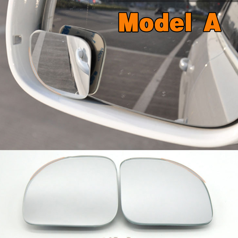 HTB1al2plAZmBKNjSZPiq6xFNVXan 2pcs/lot Car Accessories Small Round Mirror Car Rearview Mirror Blind Spot Wide angle Lens 360 degree Rotation Adjustable