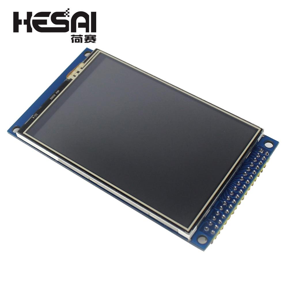 Électronique intelligente 3.5 pouces TFT écran tactile LCD Module affichage 320*480 avec adaptateur de carte PCB pour kit de bricolage arduino