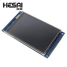 Electrónica Inteligente pantalla táctil TFT de 3,5 pulgadas, módulo de pantalla LCD de 320x480 con adaptador de PCB para arduino Diy Kit