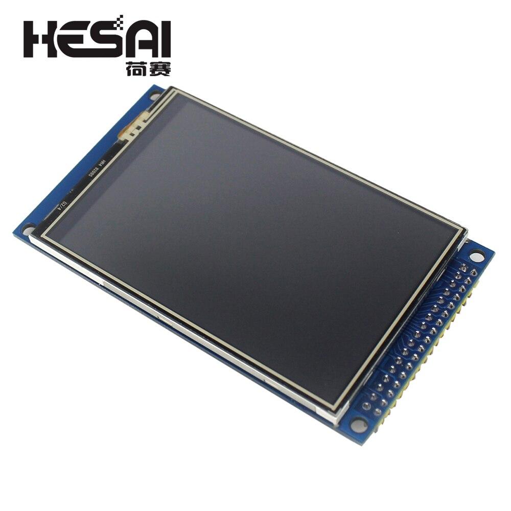 Eletrônica inteligente 3.5 polegada Tela Sensível Ao Toque TFT LCD Display Module 320*480 com PCB Adaptador para arduino Diy Kit