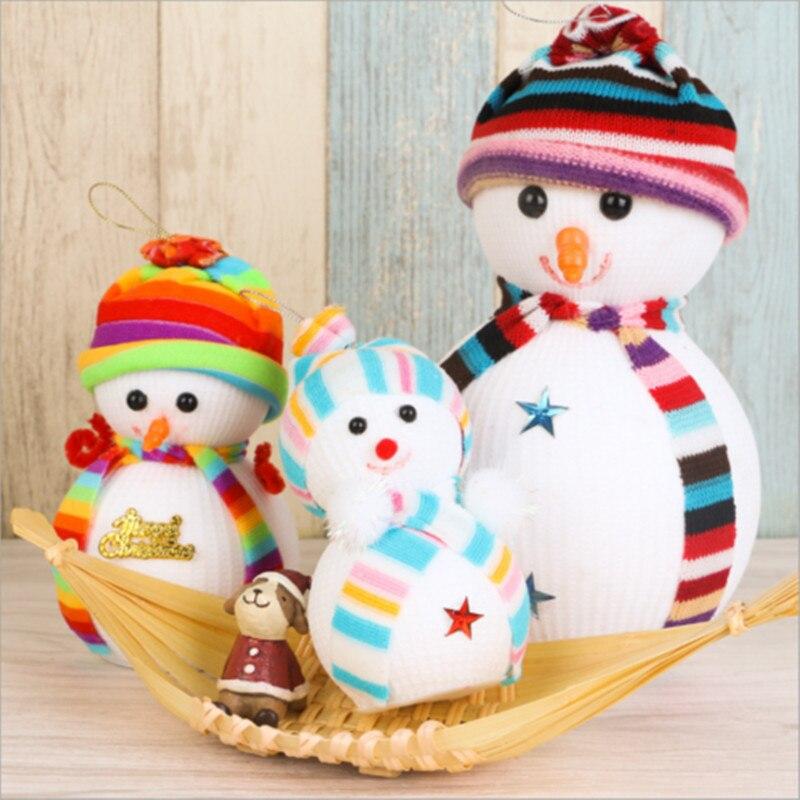 Модные Рождество Снеговик Украшения фестиваль вечеринки Xmas дерево висячие украшения Горячие fesitve партии Подвески