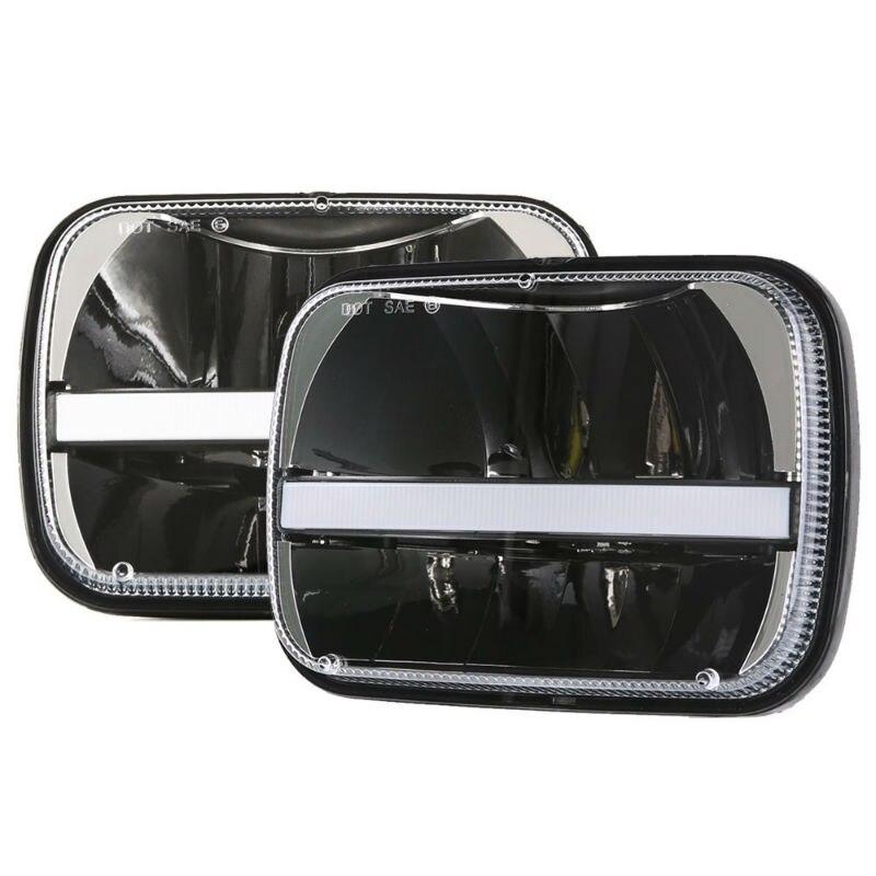 5x7 LED square headlight2800