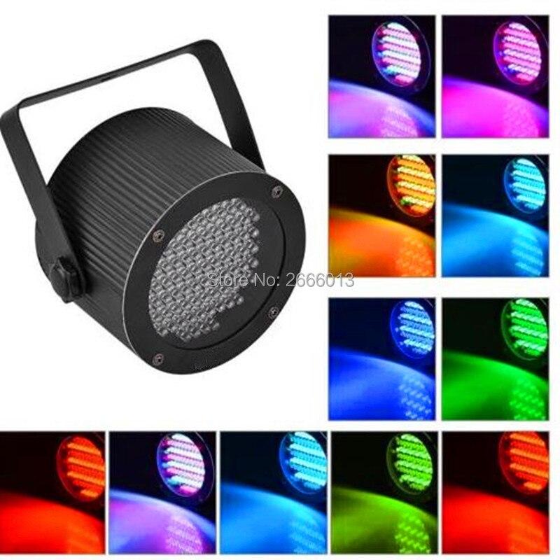 86PCS LEDs Flat par RGB mixed color Stage Lights dyed wash Effect Disco DJ Bar Effect UP Lighting Show DMX Strobe for Party KTV d flame lights bar stage lighting
