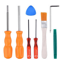 'The Best' Professional Screwdriver Set Repair Tool Kit for Nintendo NES SNES N64 Sega Game Boy & Consoles 889(China)