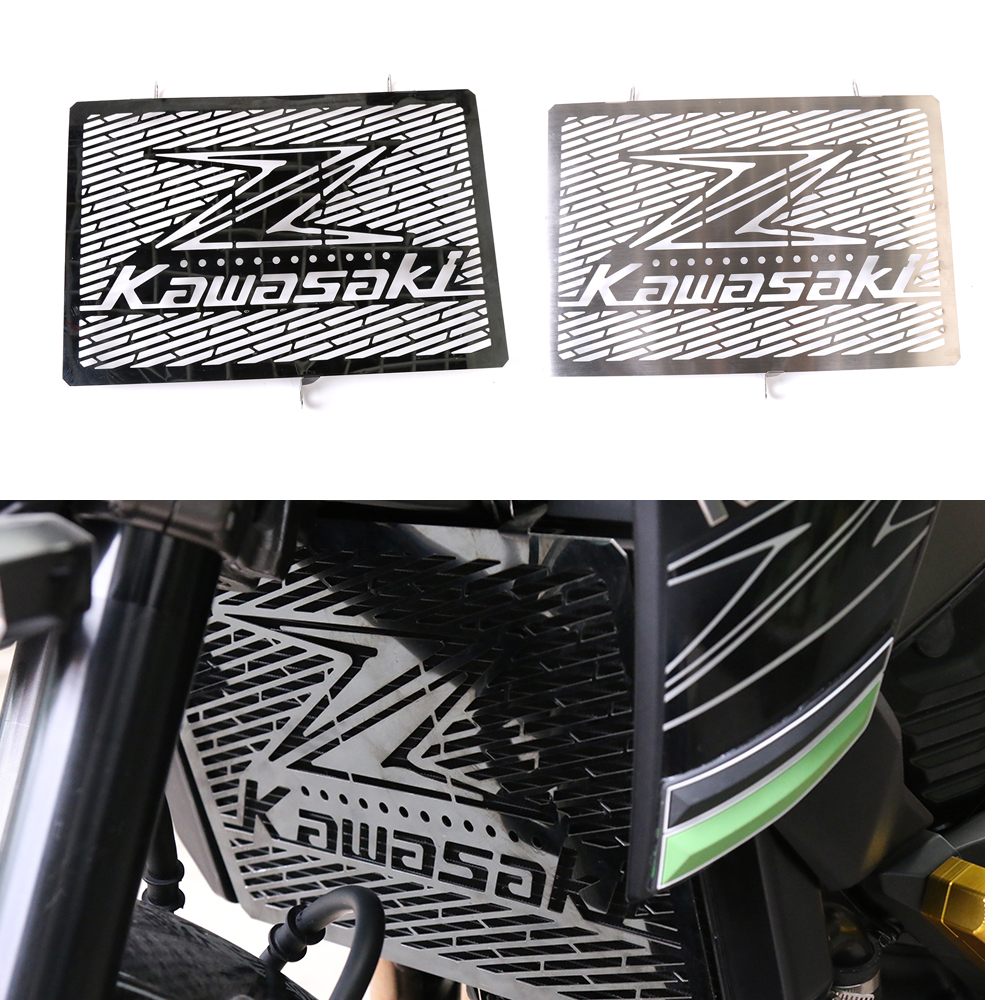 Motorcycle for RACING Z750 Z800 Z1000 Z1000SX Versy 1000 Radiator Grill Grille Stainless Steel Cover Protector Silver Black chainsaw carburetor ignition coil with carbs gasket fuel filter spark plug replacement parts for husqvarna 50 51 55 chain saws