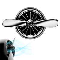 Ventilador Aroma difüzör Araba Hava Arıtma Fan Mini Araba Klima Soğutucu Fan Outlet Vent Kokuları Arıtma Blower