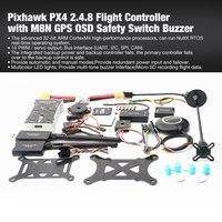 Контроллер полета Pixhawk PX4 PIX система автоматического управления полётом 2.4.8 100 мВт Drone игровые джойстики с телеметрии M8N gps мини OSD PM предохрани