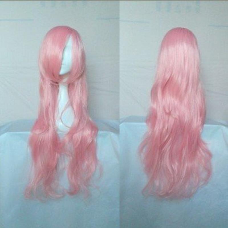 HAIRJOY Synthetic Hair Zipper 70cm Long Wavy Harajuku Lolita Cosplay Wig 18 Colors Available 91