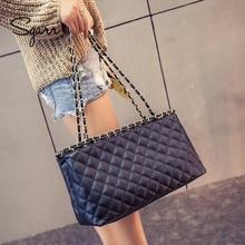 SGARR, новинка, модная женская сумка из искусственной кожи на плечо, Большая вместительная сумка-тоут, высокое качество, женские сумки, Повседневная сумка на цепочке через плечо