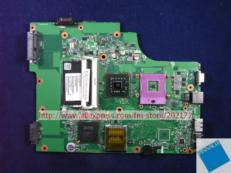 V000185020 MOTHERBOARD FOR TOSHIBA Satellite L500  L505 6050A2250301  TESTED GOOD nokotion v000185020 for toshiba satellite l505 laptop motherboard gm45 ddr2 6050a2250301 mb a03