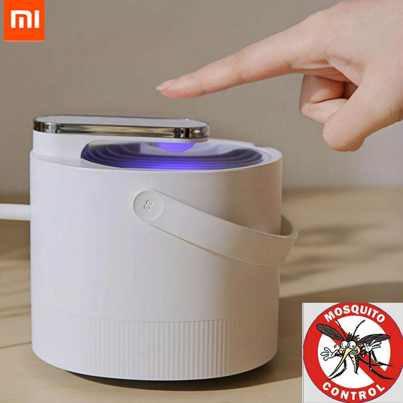 Caritativo Original Xiaomi Mijia Mosquito Killer Lampara Usb Eléctrico Photocatalist Mosquito Repelente Insectos Asesino Lámpara Trampa Uv Luz Inteligente