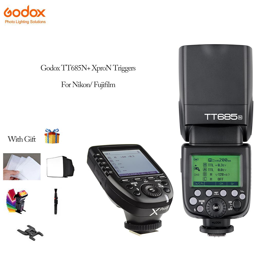 Godox TT685N F Speedlite Flash Xpro N Xpro F Transmitter Trigger Fully Support TTL For Fujifilm