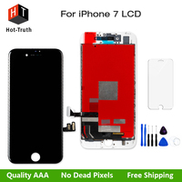 50Pcs Lot AAA High Quality LCD Display For IPhone 7 4 7 Inch Touch Screen Digitizer