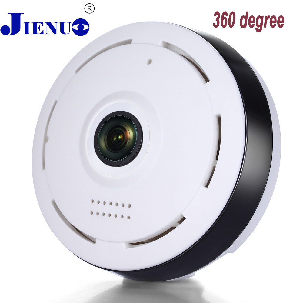 bilder für Cctv Ip kamera 360 Grad smart IPC Wireless IP Fisheye Kamera unterstützung zwei-wege audio p2p 960 p hd wifi kamera onvif jienu