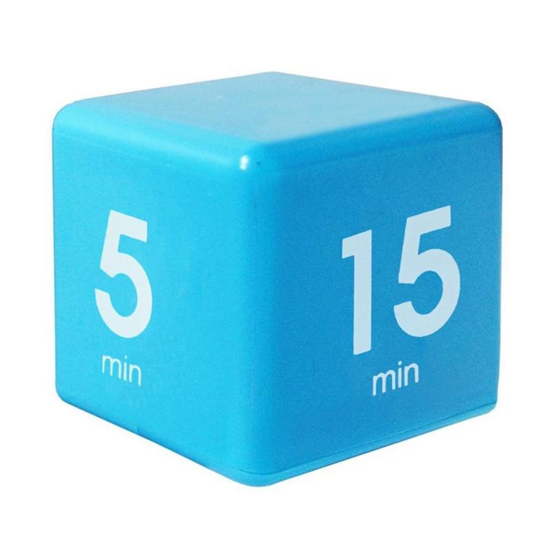 buy cube digital minutes timer clock 5 15 30 60 minutes setting kids student. Black Bedroom Furniture Sets. Home Design Ideas