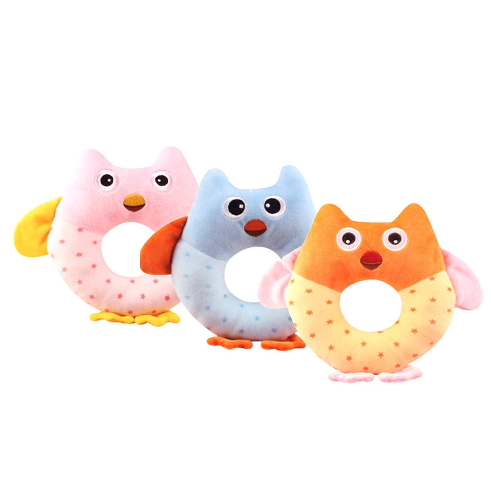 Baby owl multifunctional baby hand Toy cute baby gift-in