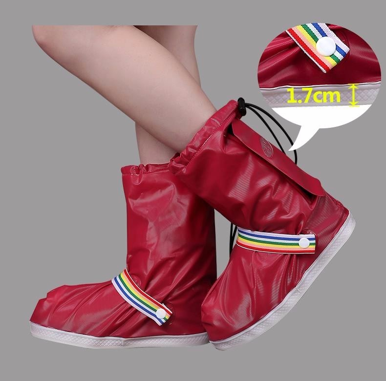 Fashionable and Waterproof Shoe Made of PVC for Women and Men Suitable for Mud Beach and Snow to Keep the Shoes Clean 10