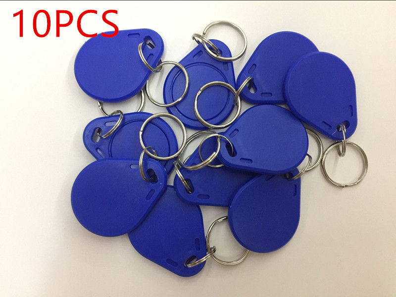 10pcs / Lot Changeable UID NFC IC Tag Token Keyfob Rfid 1 K S50 13.56 MHz ISO14443A Recordable