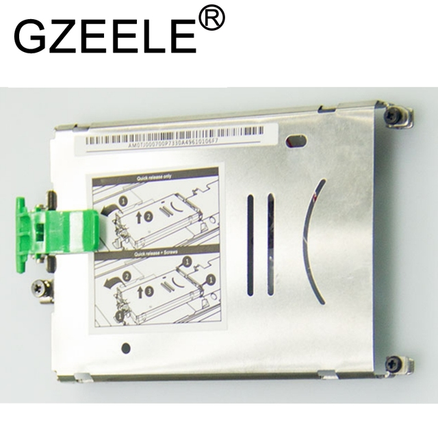 GZEELE NEW Hard Drive HDD Caddy Bracket for HP ZBOOK 15 ZBOOK 17 G1 G2 HDD Hard Drive Disk for ZBOOK17 ZBOOK15 AM0TJ000700