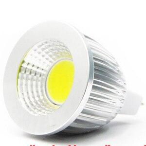 Высокая мощность MR16 12V 6w 9w 12w СИД Диммируемый cob прожектор лампа Теплый Холодный белый