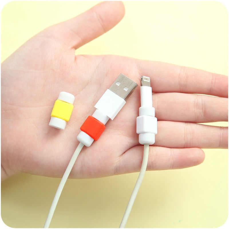 USB Kabel Protector Abdeckungen Für Iphone 4 4 S 5 5 S SE 5C 6 6 S 8 7 Plus X XS Max Fällen Für Samsung A7 2018 S7 S6 Rand S9 Hinweis Fall