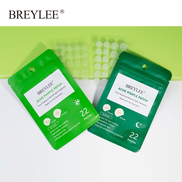 BREYLEE Acne Remover Patch Anti Acne Blackhead Pimple Blemish Treatment Sticker Skin Care Mask Facial Tools 22 Patches 5