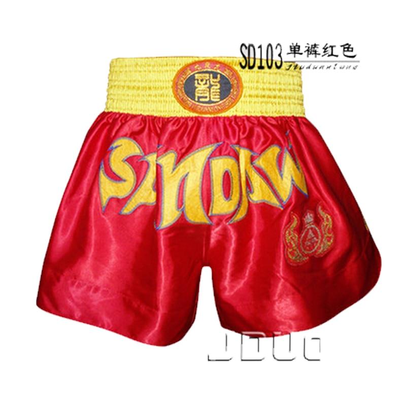 MMA Fight Տղամարդու կոստյումներ Muay Thai Shorts - Սպորտային հագուստ և աքսեսուարներ - Լուսանկար 6