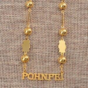 Image 3 - Anniyo Pohnpei 섬 미크로네시아 비즈 체인 목걸이 여성을위한 보석 Ponape Gifts Trendy Items #057821