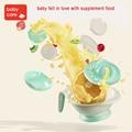 Специализация 8 в 1 Детские Еда фрукты Mills и Контейнер Чаша для хранения набор ручного шлифования блюд для Еда чайник Инструмент кормушки
