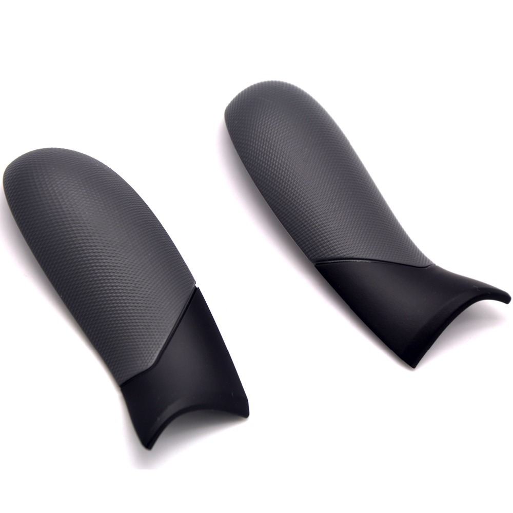1 Pair Left Right Side Rails Rubber Grip Rear Handle Panel for Xbox one Elite Controller