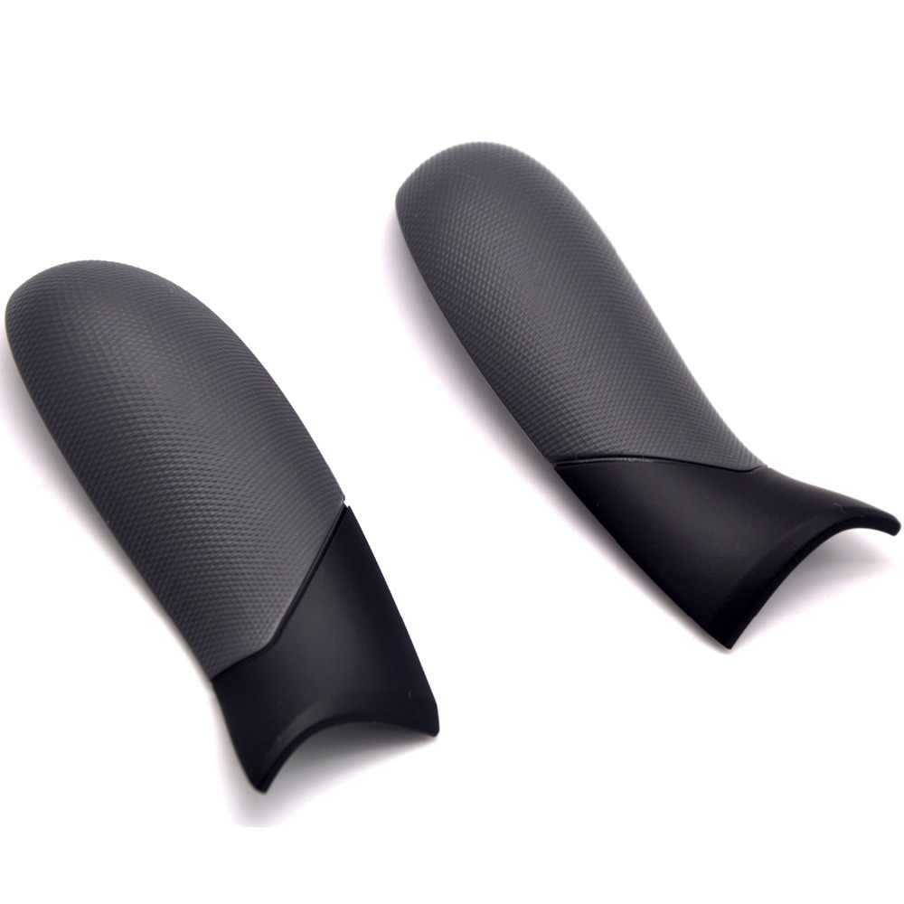 1 Pair Left Right Side Rails Rubber Grip Rear Handle Panel for Xbox one  Elite Controller Grips 1698 Replacement Parts