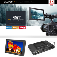 Lilliput FS7 7Inch Full HD 1920x1200 4K HDMI in/out 3G SDI in/out On Camera Video Field Monitor for Sony PXW FS7 / EVA1 / Gimbal