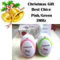 Christmas Gift 3pcs CE&FDA Factory direct fetal doppler, pocket ultrasound fetal monitor, prenatal monitor, Angel sound