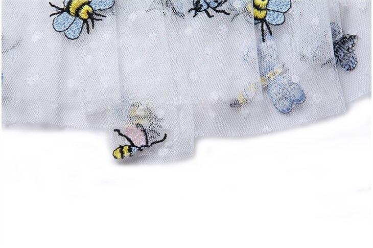 M & B abejas libélula mariposa dot patrones del bordado de cintura ...