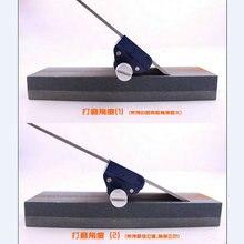 Регулируемый угол свободно нож долото лезвие края точилка держатель для легкого измельчения ножей и гладкое острое лезвие