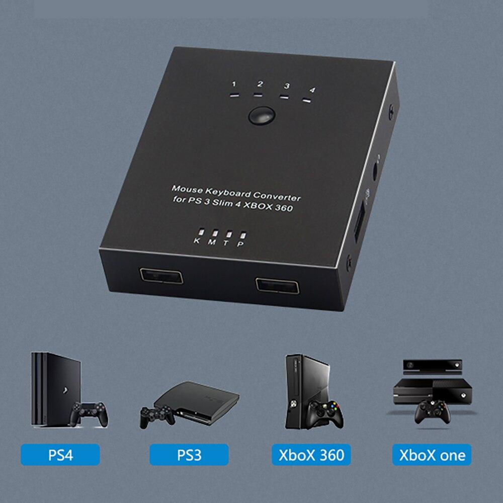 Usb Portátil Ratón Teclado Controlador De Adaptador Para Sony Ps4/ps3/xbox 360/fps Juego Macho Y Jugar Al Mejor Jugador De Regalo